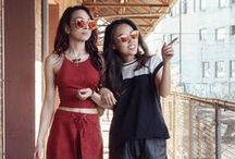 EDGE BLOGGERS / Fashion bloggers with a keen sense of EdgeiWear style
