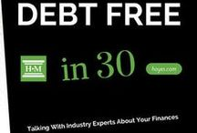 Debt Free in 30 Podcast / Every week we talk with industry experts to give you advice about debt, money and personal finance.   Podcasts are also available on iTunes and Stitcher.