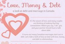Love, Marriage & Debt / Debt can lead to stress in a relationship, but it doesn't have to.  Find out what you can do to make a change.