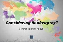 Bankruptcy / Information and advice about personal bankruptcy.  Find out how the process works, how it can help to eliminate your debt and who you should contact to get started.
