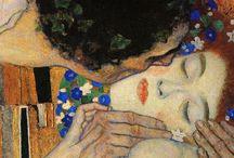 Gustav Klimt, un original / Una pequeña muestra de la obra de uno de mis pintores preferidos