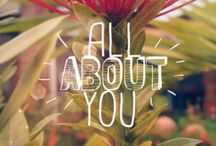 Frases de uma little girl / Tudo sobre você
