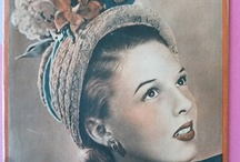 1940s french women fashion magazine