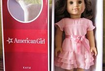 American  girl  Doll  -  patterns etc. / dolls