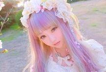 I ❤ 原宿 / Harajuku fashion, lolita, fairy kei, gyaru, pastel goth, decora / by Haruna