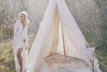 BOHEMIAN WEDDING / Once, I'll have my own bohemian hippie wedding ♡