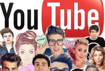 YouTubers / DanIsNotOnFire, AmazingPhil, PewDiePie, IHasCupQuake, Markiplier, and everyone else