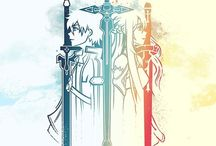 Sword Art Online / Welcome to my SAO board. Where I will fangirl for eternity.