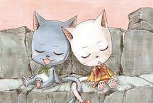 Fairy Tail / I am a Natsu fangirl. Nalu, gruvia, jerza, gale.