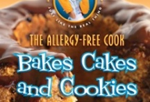 The Allergy-Free Cook Bakes Cakes and Cookies: Gluten-Free, Dairy-Free, Egg-Free, Soy-Free / By Laurie Sadowski. Vegan gluten-free treats like layer cakes, filled bundt cakes, cupcakes, and minicakes, cookies, bars, squares, and biscotti.