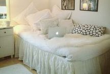 Apartment - Dorm - College Decor/Tips, Etc. / Great ideas for decorating your space on a budget, along with other helpful college study/life tips. / by Deana Jackson