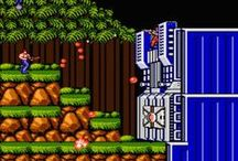contra / the 80s game inspired from Rambo/Predator/Aliens