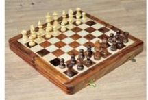 Travelling Magnetic Wooden Chess Set - chessbazaar.com / Buy Folding Travel Set and Magnetic Chess Set  with drawer