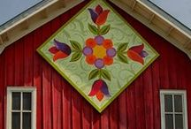 Barn Quilts / Every barn should be wrapped in a barn quilt. / by Dahlia Barn
