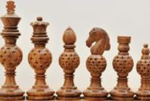 Economy Wooden Staunton Chess Pieces - chessbazaar.com / Economy chess sets are the most affordable chess sets in our store. They make an excellent gift for any occasion and for all age groups. These are cheap chess pieces but without compromising on quality.