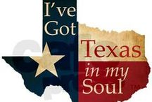 TEXAS = HOME / I may live in Pittsburgh and I may be married to a yankee, but this girl is 100% Texas original.  I don't EVER forget where I came from.  / by Laura (Lellobeetle)