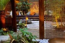 Outdoor room envy  / Seen it. Love it. Take me there. Outdoor spaces that we love.