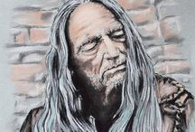 Willie Nelson / by Corrie Ariens