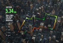 Interactive map UI