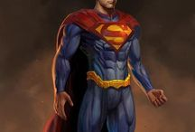Awesome superheroes / Superheroes from dc nation and marvel / by Josh Fletcher