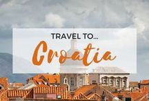 » Travel to Croatia / Travel Inspiration for Croatia. Split. Dubrovnik. Zadar. Plitvice Lakes. Zagreb. Korcula. Interrailing. Europe.