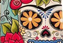 Sugar skull tattoo gallery / Tattoo nati in seno alla cultura messicana