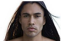.. Martin Sensmeier .. / Native American beauty