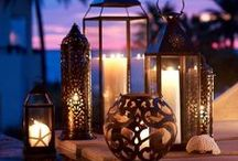 Lanterns and Candles
