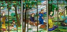 Stained glass conservation by J. M. Bonet