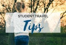 » Student Travel Tips / How to travel the world as a student. Student travel tips and tricks. Budget travel. Backpacking. Gap year. Study abroad.