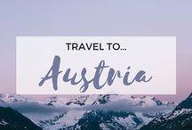 » Travel to Austria / Travel inspiration for Austria. Vienna. Salzburg. Graz. Hallstatt. The Alps. Austrian. Sound of Music. Interrailing.