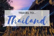 » Travel to Thailand / Travel inspiration for Thailand. Bangkok. Ko Samui. Pattaya. Chiang Mai. Phuket. Pai. Islands. South East Asia.