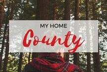 » My Home County / Travel inspiration for Herefordshire, West Midlands, England. Hereford. South Wales. Ledbury. Malvern Hills. Forest of Dean. Ross-on-Wye. Leominster. Travel. United Kingdom.