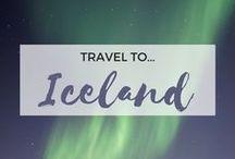 » Travel to Iceland / Travel inspiration for Iceland. Reykjavik. Blue Lagoon. Game of Thrones. Golden Circle. Gullfoss Waterfall. Hallgrímskirkja. Landscapes. Beauty.