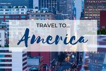 » Travel to America / Travel inspiration for America. The United States. North America. New York City. New Jersey. Pennsylvania. Texas. Florida. California. Los Angeles. San Francisco. Yellowstone National Park. Grand Canyon.