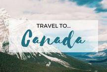 » Travel to Canada / Travel inspiration for Canada. Ontario. Toronto. Ottawa. Banff National Park. Canadian Rockies. Vancouver. Montreal. Niagara Falls. Quebec City.