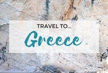 » Travel to Greece / Travel inspiration for Greece. Greek Islands. Europe. Santorini. The Balkans. Athens. Rhodes. Corfu Island. Mykonos.