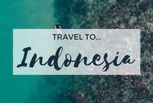 » Travel to Indonesia / Travel inspiration for Indonesia. Bali. Jakarta. Lombok. Bandung. Yogyakarta. South East Asia. Backpacking. Ubud Monkey Forest. Mount Bromo.