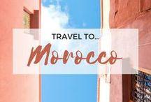 » Travel to Morocco / Travel inspiration for Morocco. Marrakesh. Atlas Mountains. Majorelle. Garden. Casablanca. Agadir. Fes. Tangier. Chefchaouen. Africa.