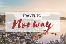 » Travel to Norway / Travel inspiration for Norway. Oslo. Scandinavia. Fjords. Northern Lights. Bergen. Trondheim. Stavanger. Tromsø. Flåm. The Lofoten Islands. The Geirangerfjord