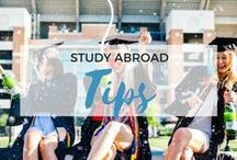 » Study Abroad Tips / Tips for studying abroad. University. College. Travel. Student.