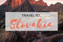 » Travel to Slovakia / Travel inspiration for Slovakia. Bratislava. Danube. Tatra Mountains. Interrailing. Europe.