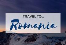 » Travel to Romania / Travel inspiration for Romania. Bucharest. Transylvania. Danube. Interrailing. Europe. Student travel.