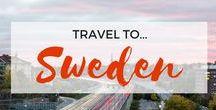 » Travel to Sweden / Travel inspiration for Sweden. Stockholm. Gothenburg. Malmo Municipality. Kiruna. Gotland. Europe. Interrailing.