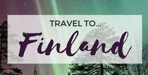 » Travel to Finland / Travel inspiration for Finland. Northern Lights. Lapland. Helsinki. Rovaniemi. Tampere. Turku. Ivalo. Interrailing. Europe. Student travel.