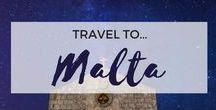 » Travel to Malta / Travel inspiration for Malta. Valletta. Gozo. Sliema. Europe. Student travel.