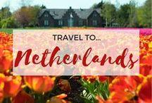 » Travel to The Netherlands / Travel inspiration for The Netherlands. Amsterdam. Rotterdam. The Hague. Breda. Maastricht. Anne Frank House. Rijksmuseum. Van Gogh Museum. Interrailing. Holland. Student travel. Budget travel. Europe.