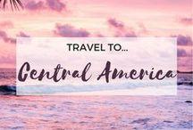 » Travel to Central America / Travel inspiration for Central America. Costa Rica. Belize. Guatemala. Nicaragua. Honduras. El Salvador. Panama. Student travel. Gap year.