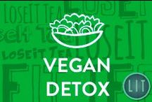 Vegan Detox / Vegan detox foods that are 100% natural and unprocessed, supplying your body with maximum nutrients. Superfoods, Vegan Smoothies, Vegan Dishes, Vegan Snack Ideas, Raw Foods, Gluten-Free.