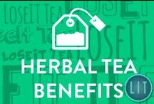 Herbal Tea Benefits / Energize Your Life   Herbal Tea Benefits   From healing digestive issues to removing toxins, and promoting weight loss, the heath effects of tasty organic herbal teas are well documented and thoroughly researched.